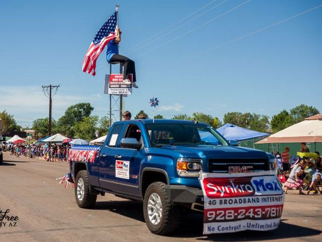 2016 Entry in Pioneer Days Parade