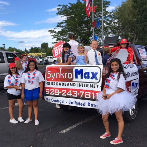 SynkroMax Entry for 2017 Pioneer Days Parade