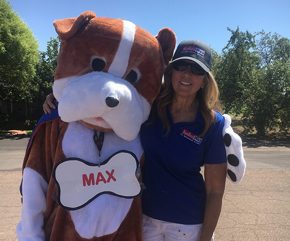 Max-the-Mascot-and-Linda-Brimhall